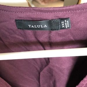 Talula aritzia dress ccs